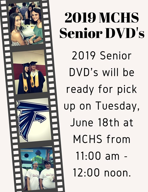 2019 Senior DVD Pick Up