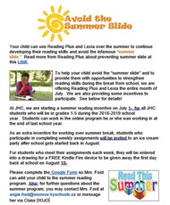 Simmer Slide Flyer