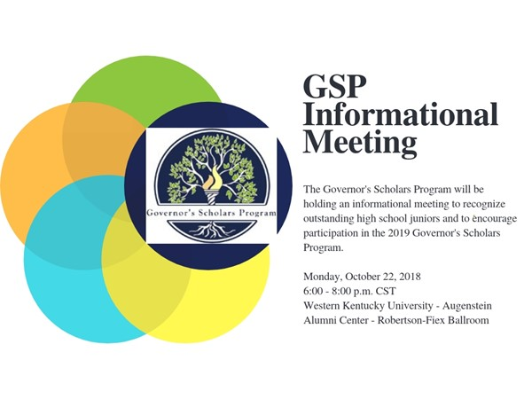GSP Informational Meeting