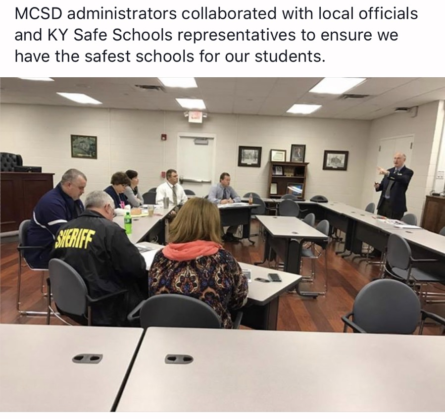 Monroe County Meet With Safe Schools
