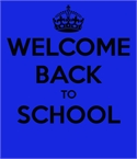 School is Back
